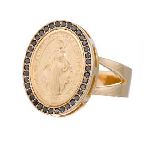 Black Diamond Virgin Mary